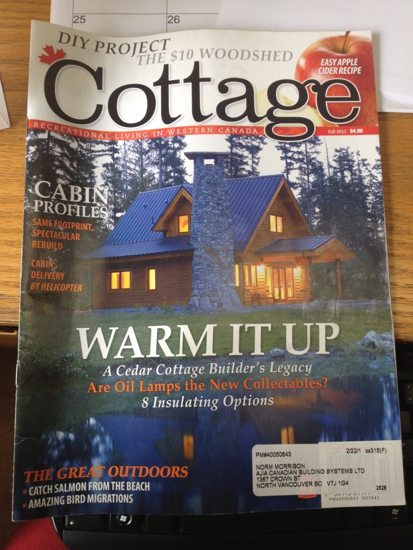 News and events archives page 7 of 8 ajia prefab homes for Home and cottage magazine