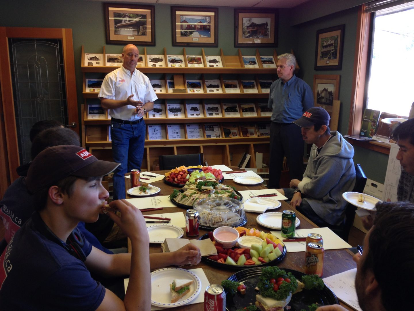 High Quality North Shore Door Joined Us Today For Our Lunch And Learn Session. Staff  Learned About Their High Quality Product Lines And Finishes And Their  Warranty And ...
