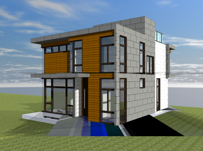 Residence laneway designs archives ajia prefab homes for Ultra modern modular homes